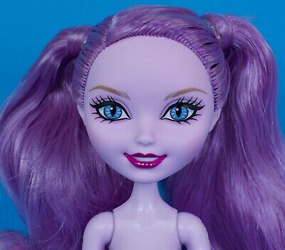 Ever After High Kitty Cheshire Spring Unsprung Doll Nude EUC  (Ever After High Kitty Cheshire)