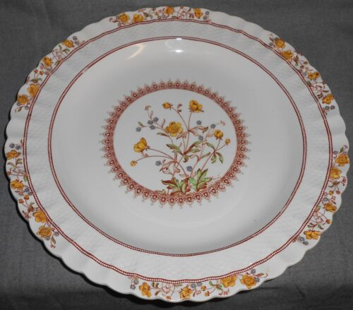 Copeland Spode BUTTERCUP PATTERN Chop Plate MADE IN ENGLAND