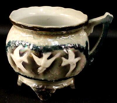 Altenburg Saxony Lusterware Brother Cup
