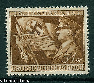 Deutsches Reich 865 , ** , * , o , 11. Jahrestag der Machtergreifung