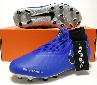 9b92459b05915 Nike Phantom Vision Academy DF MG Blue Grey AO3287-400 Mens SZ 4.5Y Womens  SZ 6