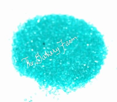- TEAL BLUE SANDING SUGAR SPRINKLES CAKE POP COOKIE CUPCAKE DECORATION PARTY 8 OZ