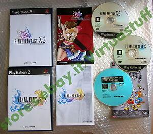 Final Fantasy X Final Fantasy X-2, FF, Game Set, Playstation 2, PS2, NTSC, JAP - Italia - Final Fantasy X Final Fantasy X-2, FF, Game Set, Playstation 2, PS2, NTSC, JAP - Italia
