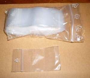 100 Tütchen Polybeutel 40 x 60 Druckverschluss Druckverschlussbeutel Zip Tüten