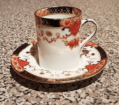 Sutherland China Coffee Can & Saucer