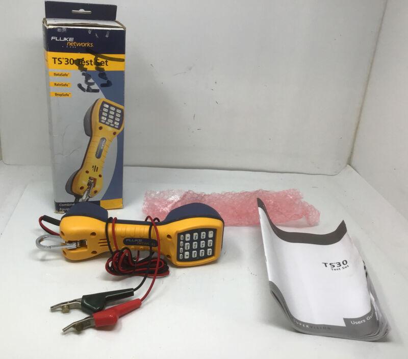 NEW Fluke Networks 30800-009 Ts30 Test Set (30800009) Telephone Lineman