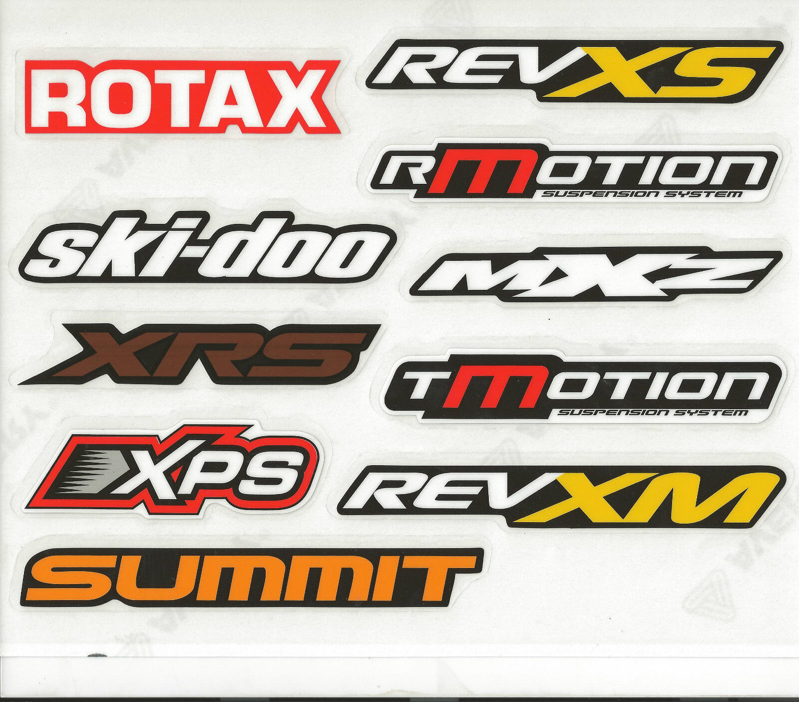 SKI-DOO PERFORMANCE DECAL/STICKER SET 516006297