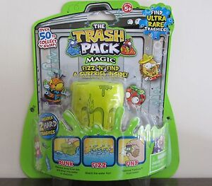 The Trash Pack Series 2  Magic Fizz Bag Includes 2 Exclusive HARD Trashies!