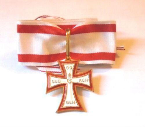 Medieval Kingdom Danish Knight Denmark Royal Order Merit Cross Medal Award War D