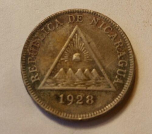 1928 Nicaragua 5 Centavos