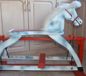Wooden rocking horse Tura Beach Bega Valley Preview