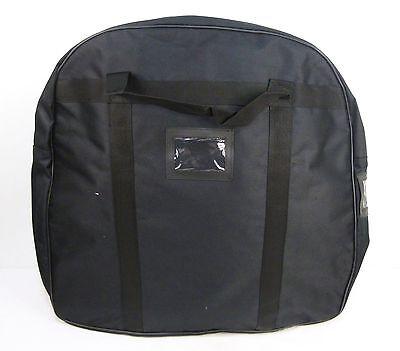 Black Heavy Duty Nylon Kit Police Body Armor Armour Stab Vest Carrier Bag K8