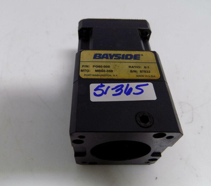 PARKER BAYSIDE PRECISION GEARHEAD GEAR BOX PG60-005