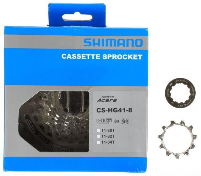 Shimano CS-HG41 8 Speed 11-32T Acera HG41 MTB Cassette retail