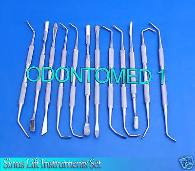 12 Sinus Lift Instruments Set Implant Dental Dentistry Surgical Instruments
