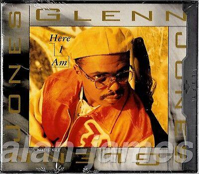 Glenn Jones HERE I AM + Round & Round (Remix) 1994 US CD Single (Round Here Remix)