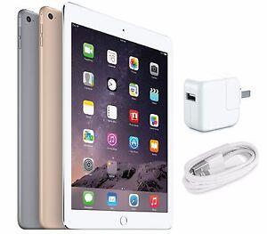 """Apple iPad Air 2nd Generation A1566 9.7"""" Retina Display 128GB WiFi Tablet"""