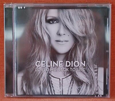 CELINE DION - LOVED ME BACK TO LIFE  --- *** CD ***