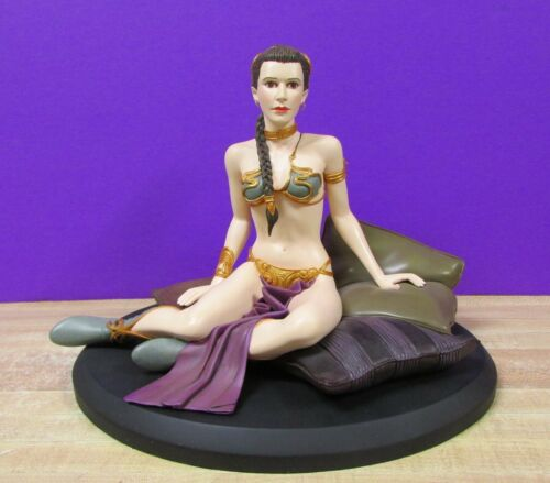 Princess Leia Slave Statue by Atticus 2000 Number 0604 Of 5500