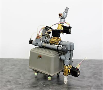 Thomas 5060v-a Pump With 3 Smc Vxz2240-04n-5gs1 Solenoid Valves Wwarranty