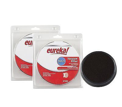 Genuine Eureka DCF-25 Vacuum Filter 67600 2-Pack