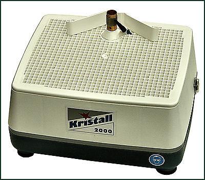 SET: Glasschleifmaschine KRISTALL 2000 plus Bohrkopfspülung FREI HAUS!