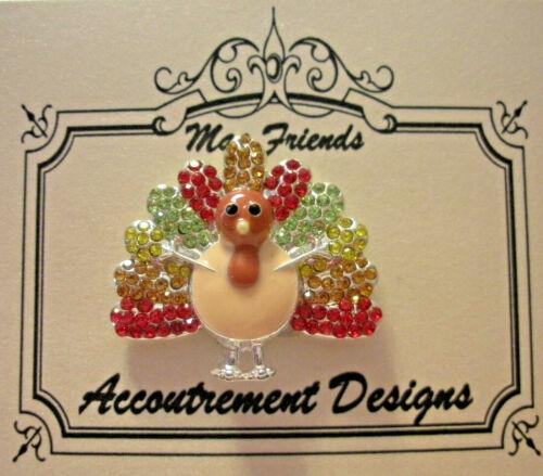 Needle Minder Magnet Turkey Thanksgiving Accoutrement Designs Cross Stitch