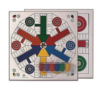 Juego de Parchis Tablero MADERA 40x40 de Cayro 4 y 6 jugadores...
