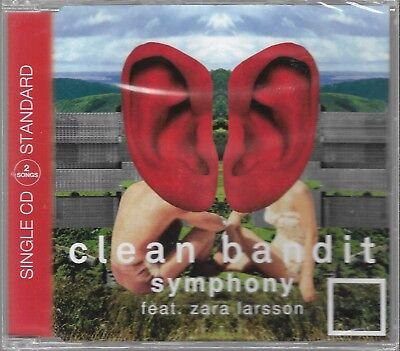 Cd Single Clean Bandit Feat Zara Larsson   Symphony  Sealed Single