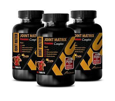 joint vitamins JOINT MATRIX PREMIUM COMPLEX glucosamine chondroitin tablets -
