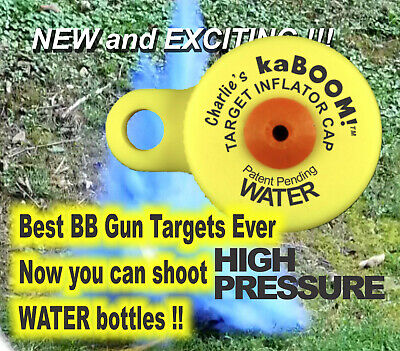 Charlie's kaBOOM! WATER BOTTLE Target Cap -- The Best BB Target Ever!!*