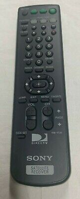 GENUINE SONY SATELLITE RECEIVER UNIVERSAL ALL IN ONE REMOTE RM-Y139 All In One Receiver