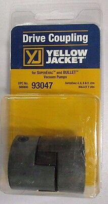 Yellow Jacket Drive Coupling For 4 6 8 11 Cfm Vacuum Pumps - 93047