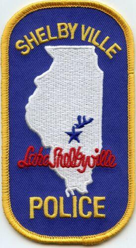 SHELBYVILLE ILLINOIS IL Lake Shelbyville POLICE PATCH