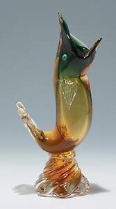 Murano SOMMERSO Glasfisch 1950er Jahre        #81508