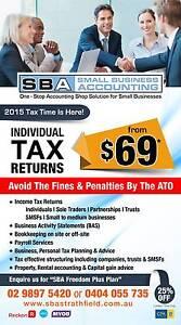 Small Business Accounting Strathfield (SBA Strathfield) Strathfield Strathfield Area Preview