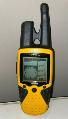 Garmin Rino 110 GPS/Radio Navigator Tested & Working!