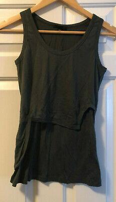 Vintage Helmut Lang Tank Top Drape Blouse Shirt