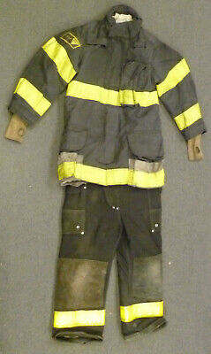 Janesville Firefighter Set Jacket 34x35 Pants 30x27 Bunker Turn Out Gear S52