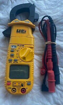 Uei Dl379b Digital Hvac Clamp Amp Meter Multimeter