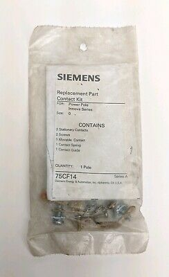 W11 - Siemens / Furnas 75CF14 Replacement Part Contact Kit - Size 0