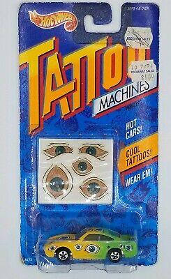 1992 Hot Wheels Tattoo Machines Eye-Gor Vintage Retro Diecast Car Toy 90s NEW