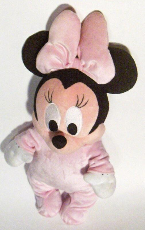 Baby Minnie Mouse Plush Ebay