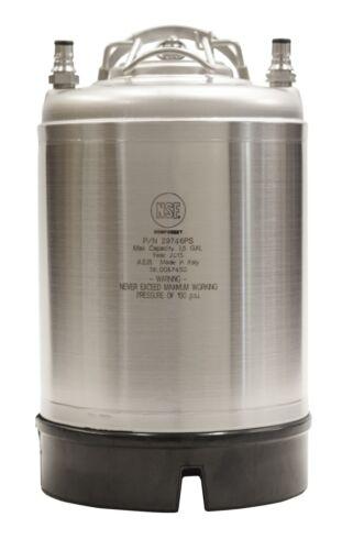 New 2.5 Gallon Ball Lock Keg AEB - Cold Brew Coffee, Soda & Beer - Free Shipping