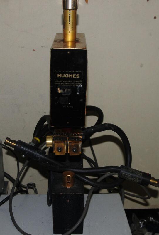 Hughes VTA-76 spot weld welder parallel welding head
