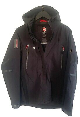 Victorinox Recco Avalanche Rescue System Womens Black Jacket Size -