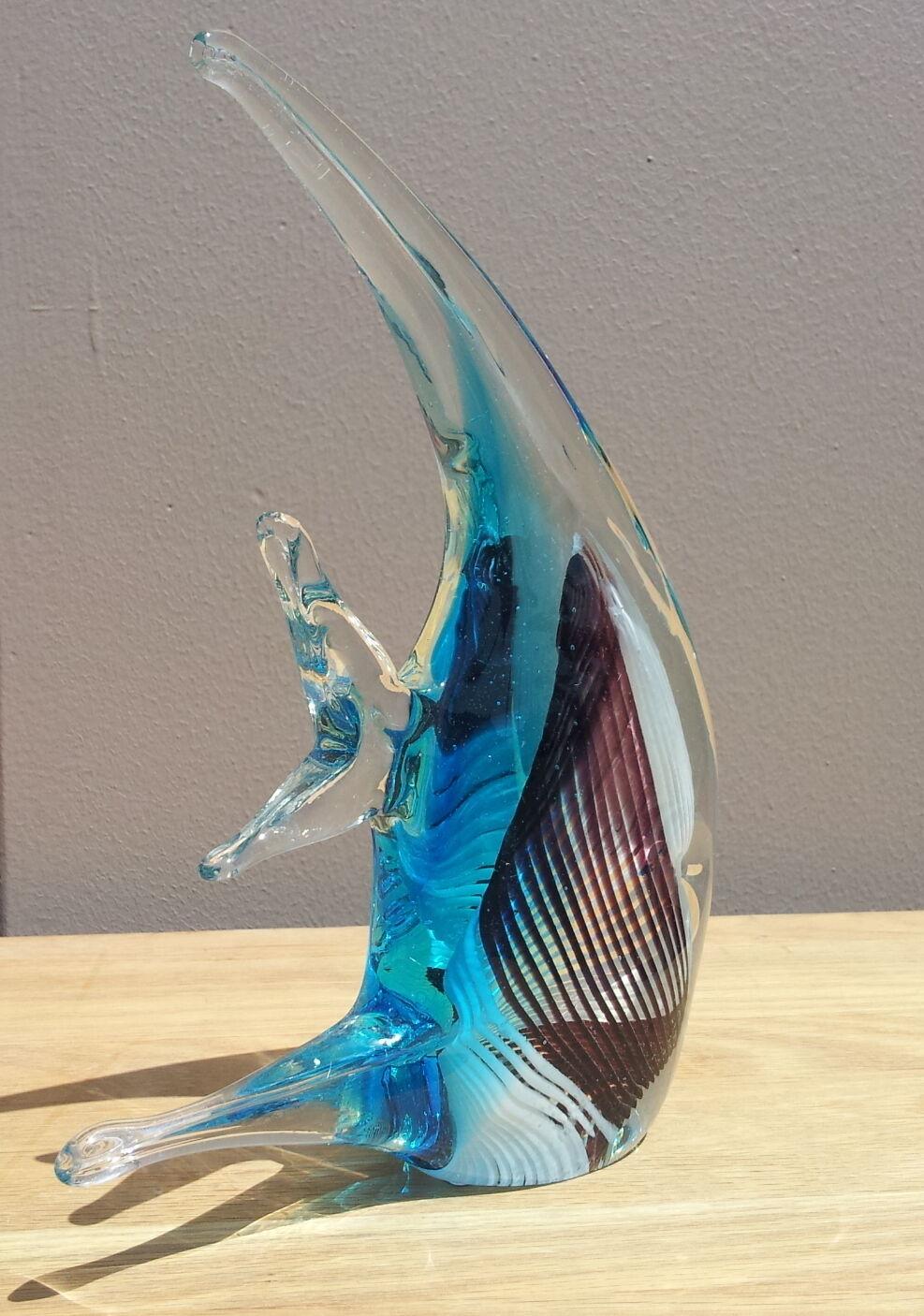 Blown glass angel fish - photo#20