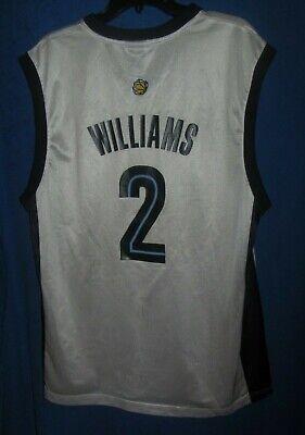 NBA Memphis Grizzlies Reebok JASON WILLIAMS Jersey #2 Sz Adult Large (damaged)