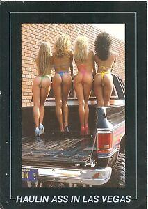 Postcard: Comic - Haulin Ass in Las Vegas - Wolbrom, Polska - Postcard: Comic - Haulin Ass in Las Vegas - Wolbrom, Polska