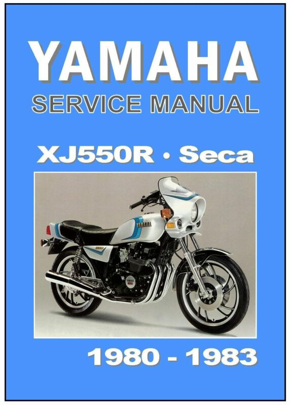Yamaha xj550 manual ebay for Yamaha ysp 5600 manual